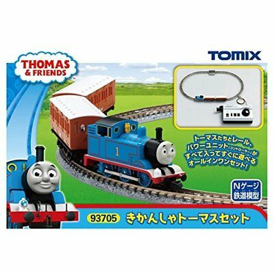 Tomix N Gauge Thomas The Tank Engine Set Model Train Introductory Japan New