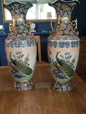 A matching pair of Antique vases