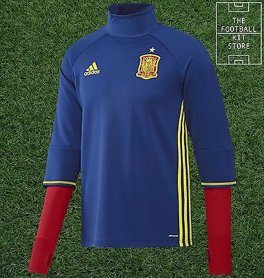Spain Midlayer - Official adidas Football Training Top - Mens - All Sizes