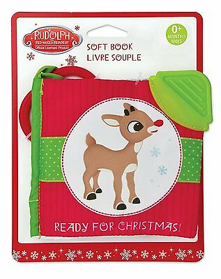 Rudolph the Red-Nosed Reindeer Rudolph Soft Book
