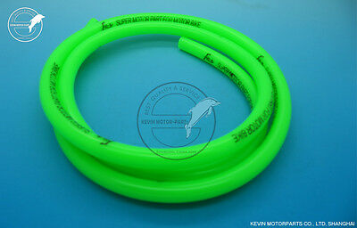 1 meter GREEN racing fuel pipe fuel line gas line for scooter moped ATV pit bike