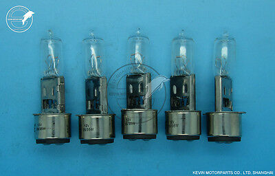 5× FSL Tungsten Halogen lamp BA20d 12V 35W ATV Scooter motorcycle Headlight Bulb