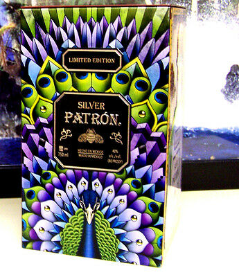 BRAND NEW, Patron Silver Tequila Collectors Limited Edition Metal Empty Tin!