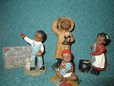 Lot of 5 All God's Children Figurines by Martha Holcombe. NIB