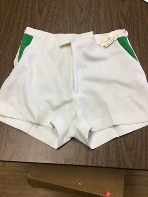 Vintage 70s Your Advantage Polyester  Tennis Short Size 38 Waist USA Made