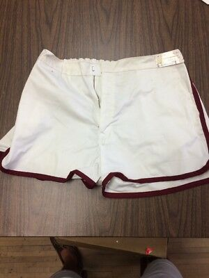 Vintage 70s Your Advantage Polyester  Tennis Short Size Large USA Made