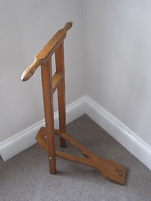 Edwardian Oak Country House Boot Pull/Jack