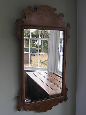 Early 20th Century George II Style Walnut Mirror