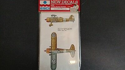 1/72 ESCI Decals Italy National Insignia & Victories
