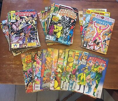 Guardians of the Galaxy (1990) Lot - Complete Series Set w/#s 1-62, Annuals 1-4