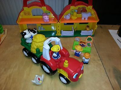 la ferme  +  tracteur  fisher price