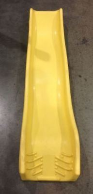 Plum Heavy Duty Yellow Wave Slide 6ft - Climbing Frame Play Centre Attachment