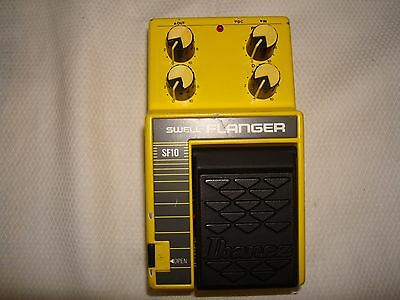 vintage Ibanez SF10 swell flanger pedal