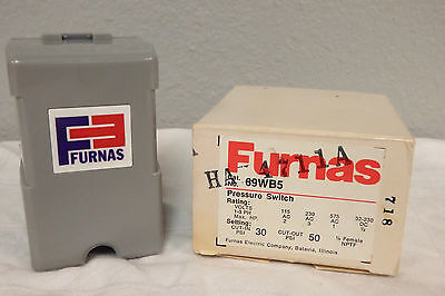 New with box FURNAS 69WB5 pressure switch