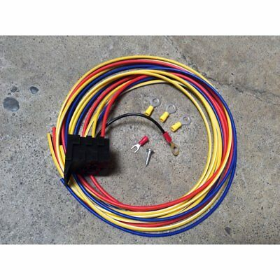 GM Relay Harness Socket Kit for Bosh-Style Automotive Relay 12v wire wiring