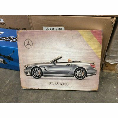 Man Cave Garage Retro Styled Signature Mercedes Wooden Sign