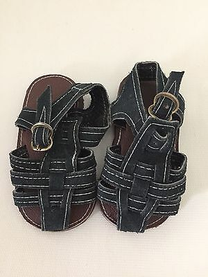 Infant Genuine Leather Fisherman Sandals Close Toe  Girls or Boys Baby