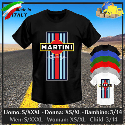 """T-shirt """"MARTINI RACING"""" Limited Edition Tuning Rally GP Cup Steve, Collez 2019!"""