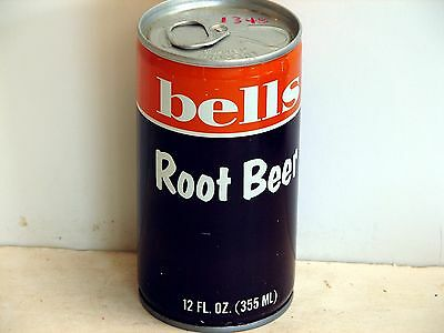 Bells Root Beer; Bells Markets, Inc.; Buffalo, NY; steel soda pop can