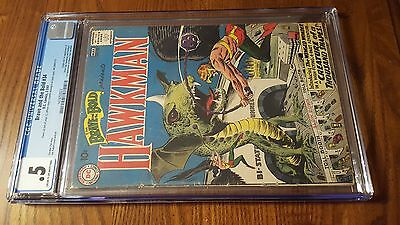 Brave and the Bold #34~CGC .5 ~1st Silver Age Hawkman & Hawkgirl