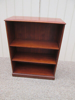 58402  PAIR  Open Bookcase Cabinet s with adjustable wood shelves