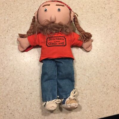 Willie Nelson & Family General Store 16 inch Cloth Doll 1989