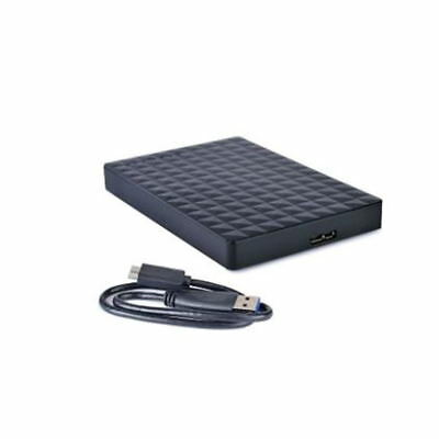 500GB Mobile Hard Drive Disk Micro B High Speed Storage Stable Portable Black