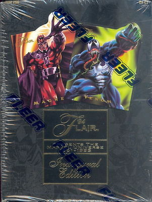 1994 Flair Marvel Universe Inaugural Annual Edition SEALED BOX Marvel XMen