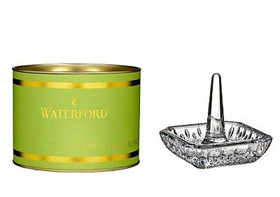 NEW Waterford Crystal Giftology Lismore Square Ringholder. Great Gift Idea!