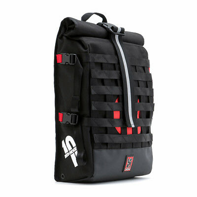 Chrome Industries Barrage Limited Red Hook Crit USA made Riding back pack