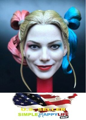 1/6 Harley Quinn 2.0 head Prison Suicide Squad for Phicen verycool❶USA IN STOCK❶