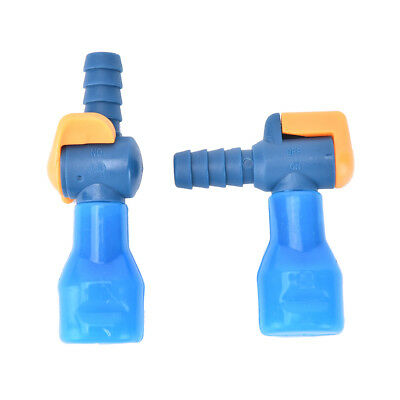 Outdoor General 90° Straight Silicone Bite Valve Hydration Pack Nozzle Bladder@