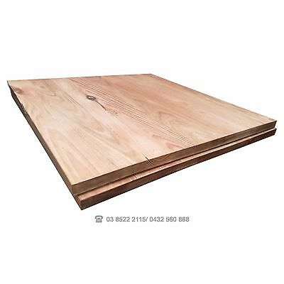 Cafe 800mm Table Top VIC ASH Australian Made Restaurant Commercial Stained