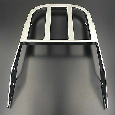 Sissy Bar Luggage Rack Chrome For 2000-2009 Yamaha V-Star 1100 Motorcycle