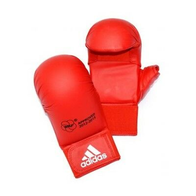 Adidas WKF Karate Mitts Red