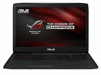 """ASUS G751JT GAMING LAPTOP - Intel Core i7 + 1TB HDD + 256GB SSD + 17.3"""" IPS FHD"""