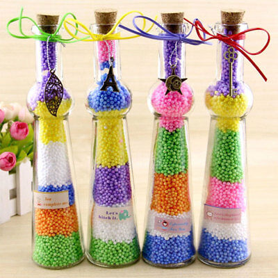 Styrofoam Filler Plastic Foam Mini Beads Ball DIY Assorted Colors Tools Decorate