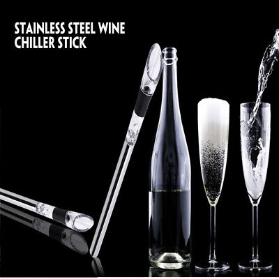 Stainless Steel Wine Chiller Stick Aerator Ice Cold Pourer Stopper
