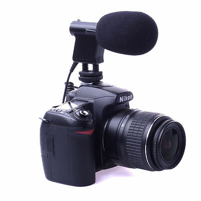 BOYA Directional Condenser Microphone BY-VM01 for DSLR Camera Camcorder DV LF476