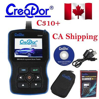 From CA Creator C310+ For BMW 1997 to 2013 Multi System Scan Tool Code Reader