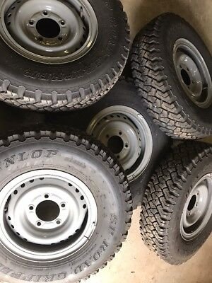 4wd wheels and tyres, Landcruiser, 79 Series, Ute