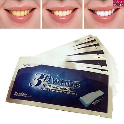 28/56/84x 3D Professionelles Bandes de Blanchiment de Dents Blanchiment Dentaire