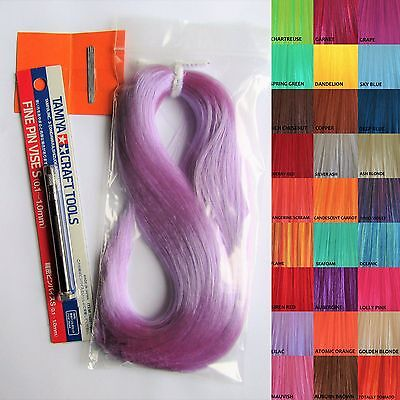 Doll Rerooting Kit - Includes Tool, Needles & Hair - Perfect for Monster High!