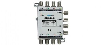 MULTISWITCH SATELLITARE SAT SD444/0   4 In + 4 Out + 4 uscite  SP@CED