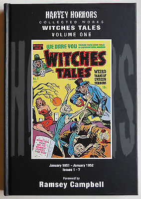 WITCHES TALES Vol.1. H/C - Harvey 1951/2