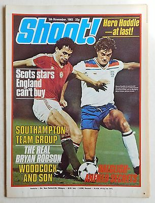 SHOOT Football Magazine - 5 November 1983 - Southampton, Trevor Steven