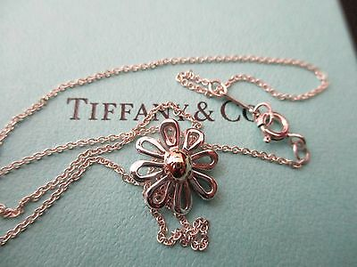 100% Genuine Tiffany & Co daisy necklace - sterling silver,18k gold