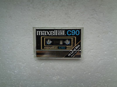 Vintage Audio Cassette MAXELL UD XL II C90 From 1977-79 - Fantastic Condition !!