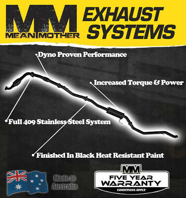 Exhaust System - Great Wall V200 V200 Oct - 11 On 2.0L TD Dual Cab Ute (4-door)