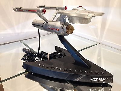"STAR TREK ,USS ENTERPRISE TELEPHONE, Vintage, ""1993""AWESOME COLLECTIBLE & ""NEW """